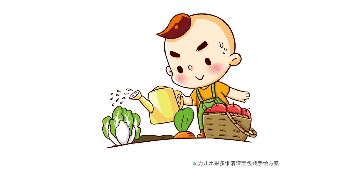 米粉吃法手绘图